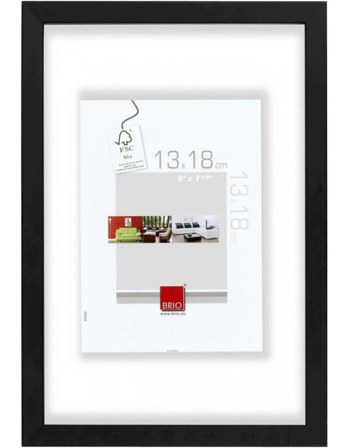 Glas Holzrahmen 20x30 cm - 13x18 cm Brio | fotoalben-discount.de