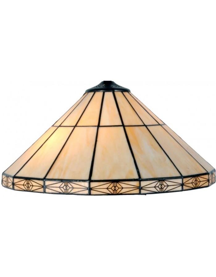 glas lampenschirm tiffany nat rlich ii clayre eef. Black Bedroom Furniture Sets. Home Design Ideas