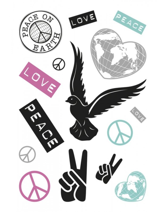 HERMA DECOR peace symbol