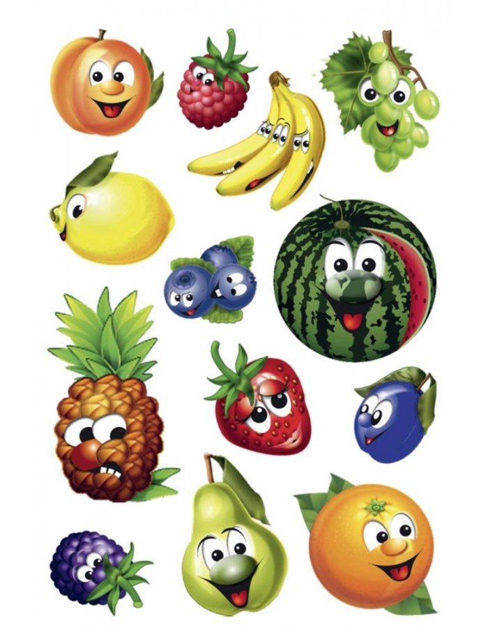 HERMA Sticker MAGIC fruits, movingeyes