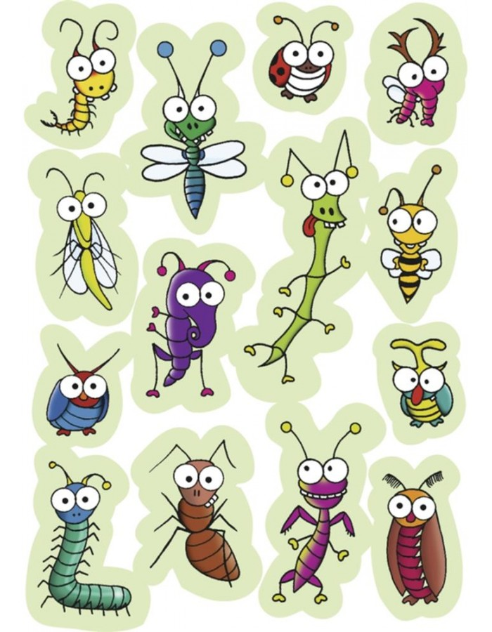 HERMA MAGIC funny insects, Moving eyes