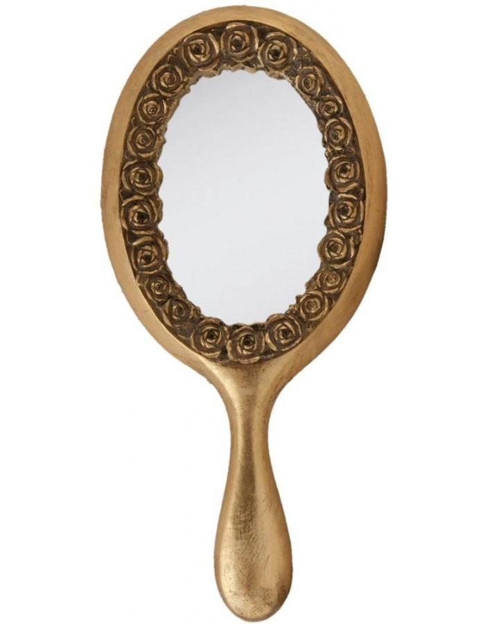 hand mirror 62s036 clayre eef 14x32 cm clayre eef. Black Bedroom Furniture Sets. Home Design Ideas