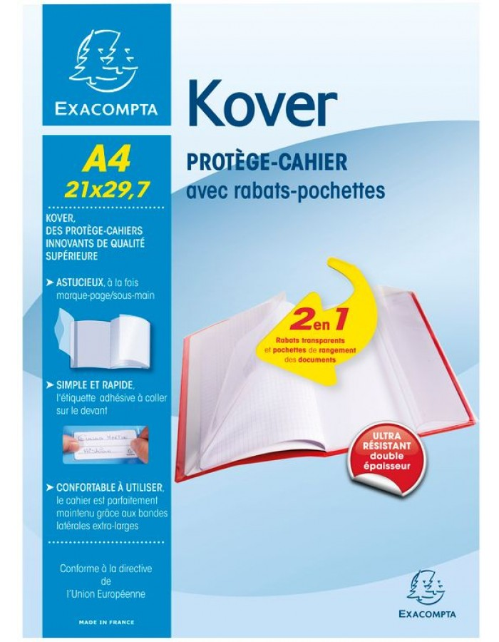 Booklet cover Kover A4 sorted