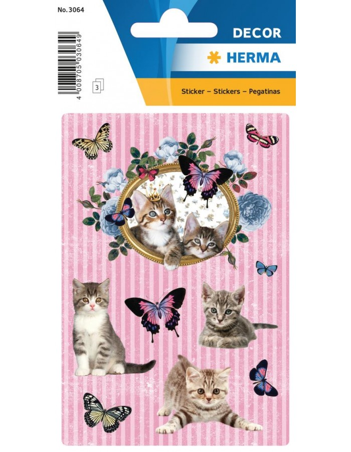 Sticker DECOR cats magic