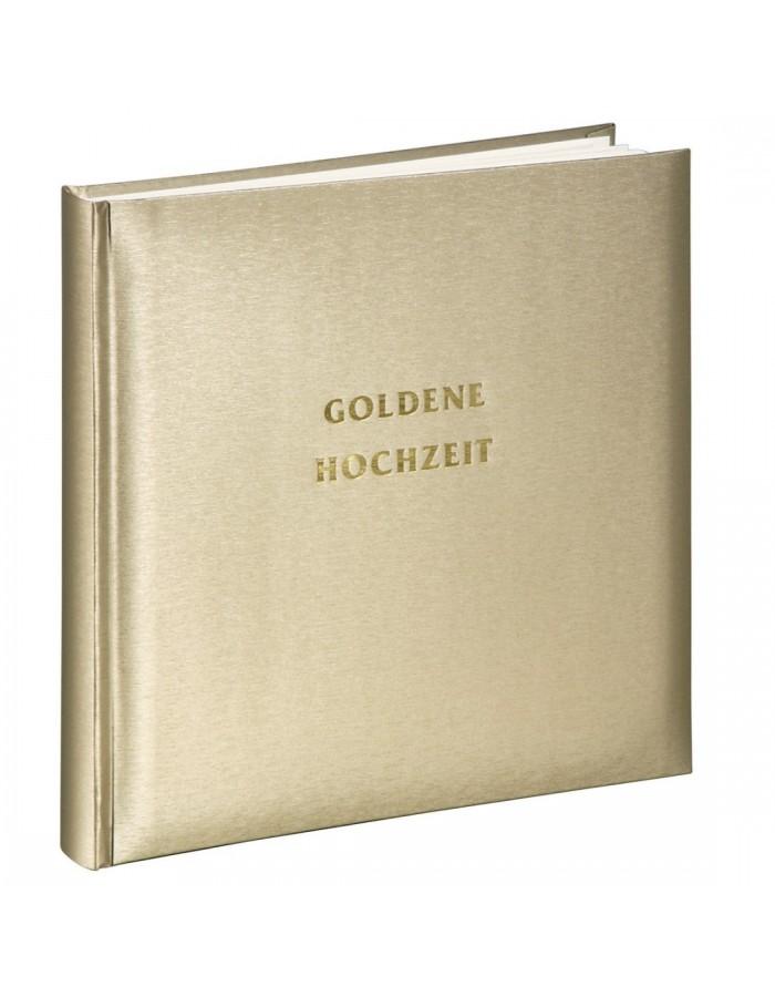 Hama Hochzeitsalbum Goldene Hochzeit 30x30 Cm Fotoalben Discount De