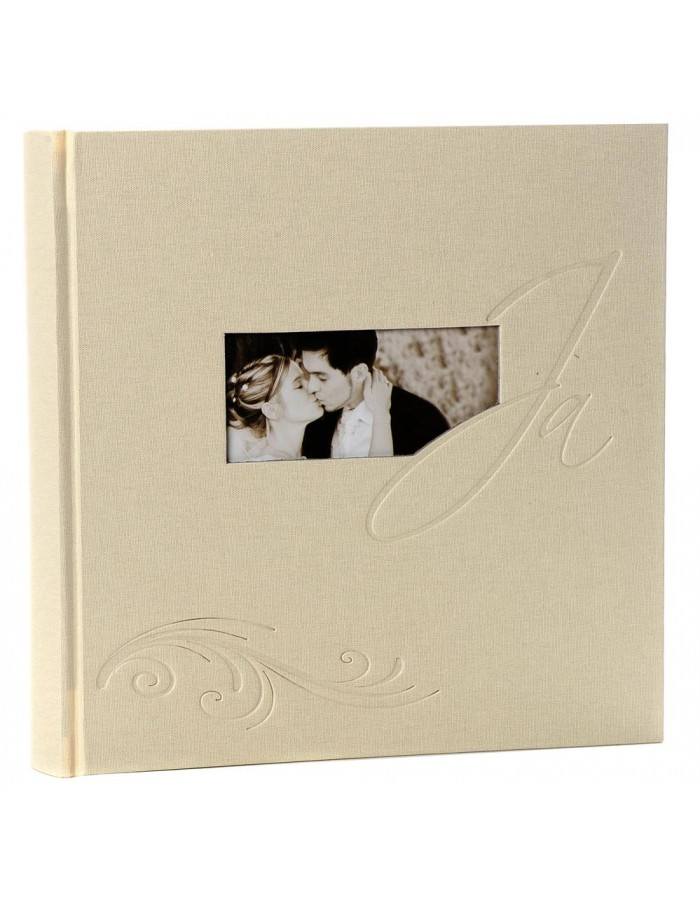 Slip-in wedding album Yes