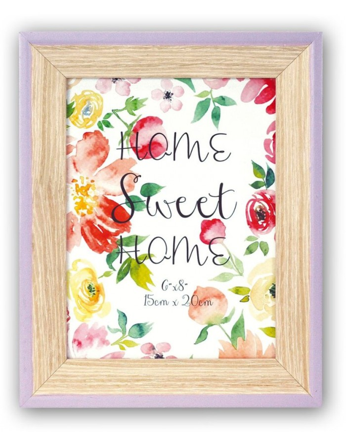 Wooden photo frame Spring 3 colours and sizes
