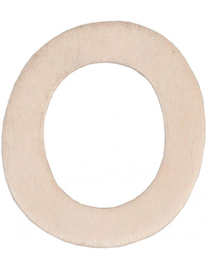 Wood-digit 0 to 9  - 4 cm
