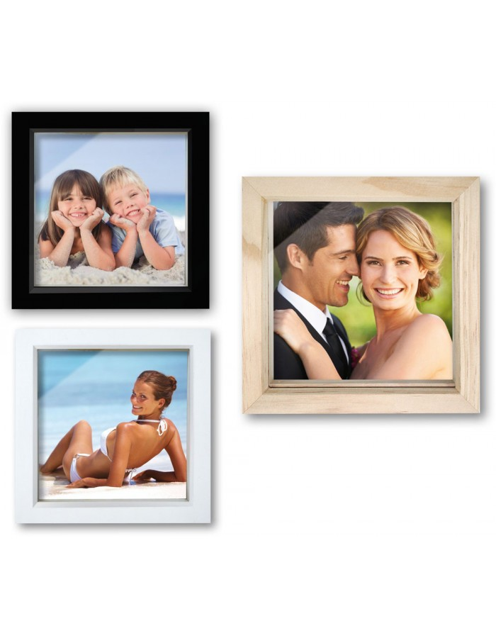Wooden picture frame box 3 sizes
