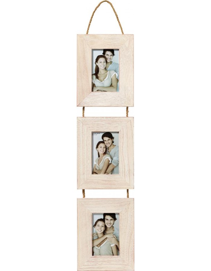 Wood Gallery Limmerick IV white 3 photos 10x15 cm