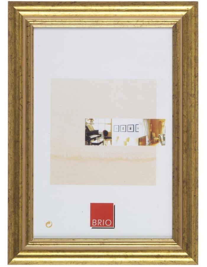 Holzrahmen Circee 15x20 cm gold Brio | fotoalben-discount.de
