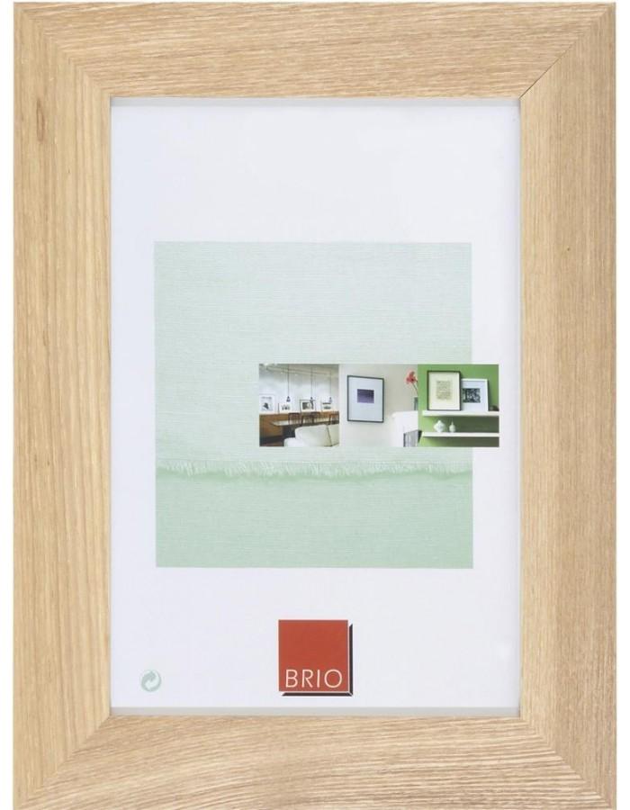 Holzrahmen Oakland 10x15 cm natur Brio | fotoalben-discount.de