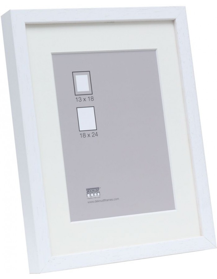 Wooden Frame 24x30 Cm White S223k Deknudt Fotoalben Discountde