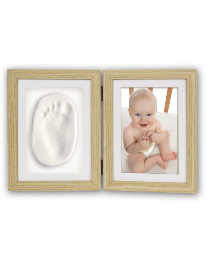 Baby Footprint Kit Abel Zep With Frame Fotoalben Discountde