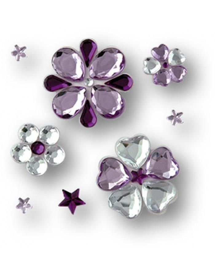 Jewels Stickers 3d Deko Sticker 8x8 Cm Zep Fotoalben