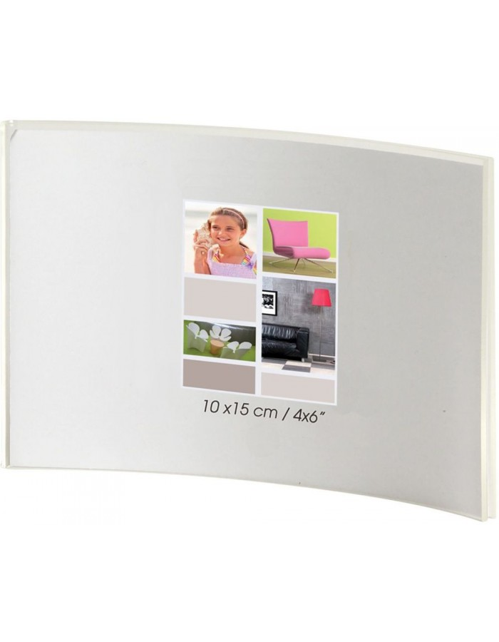 Brio Jim Acryl-Rahmen 10x15 cm Querformat gebogen | fotoalben ...