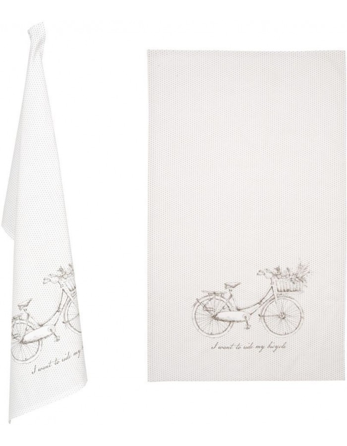KT042C.002 Clayre Eef towel BICYCLE natural