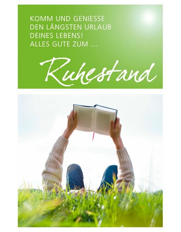 ruhestand karte Karte/Präge/Ruhestand ARTEBENE | fotoalben discount.de