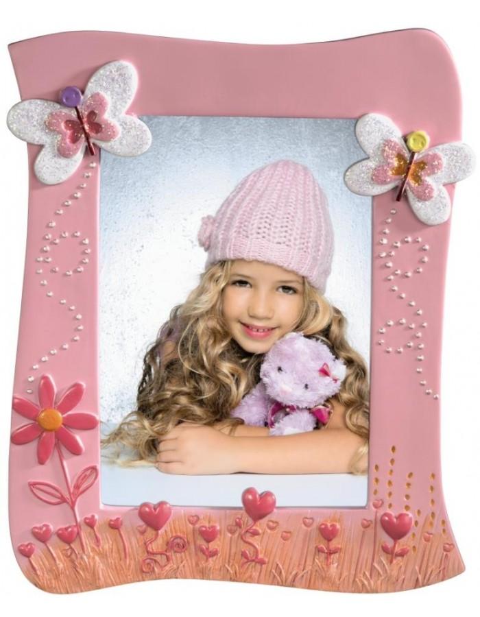 Hama Kinder Bilderrahmen MARIE rosa 10x15 cm | fotoalben-discount.de