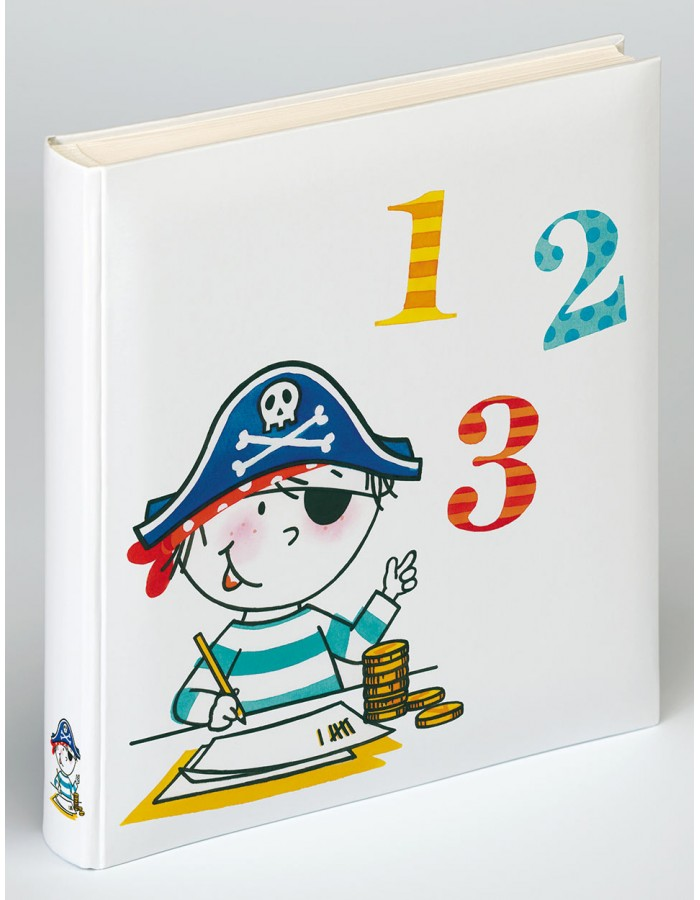 Kids Photo Album Fairy and Pirate - Kindergarten and School