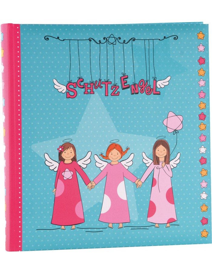 Album for Children guardian angel turquoise