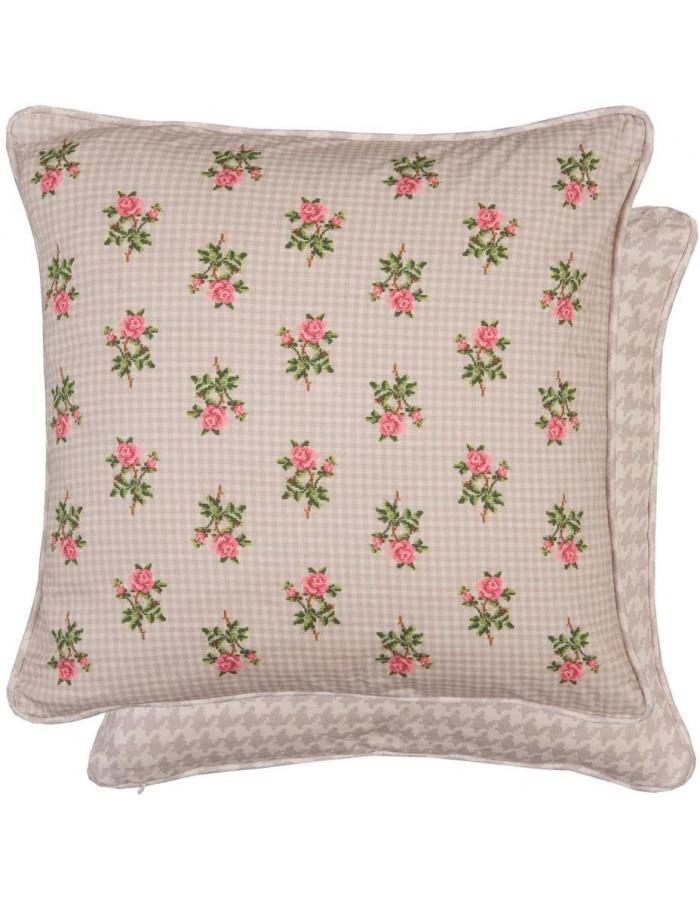 kissenbezug 50x50 rosa tuptam kissenbezug dekokissen gemustert baumwolle farbe sterne rosagrau. Black Bedroom Furniture Sets. Home Design Ideas