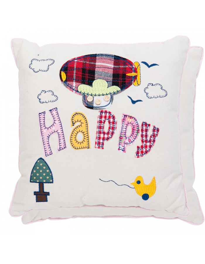 Pillow Happy 30x30cm filled
