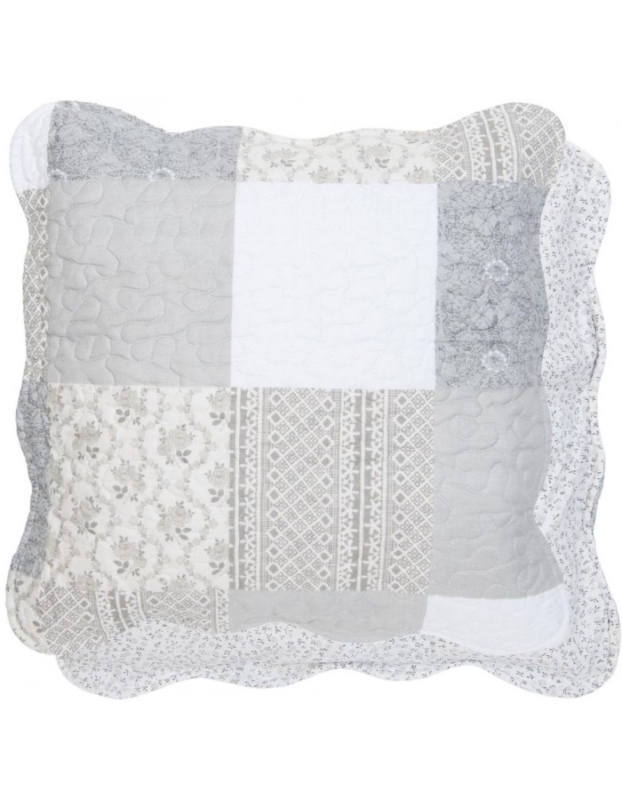 pillowcase grey - Q154.020 Clayre Eef