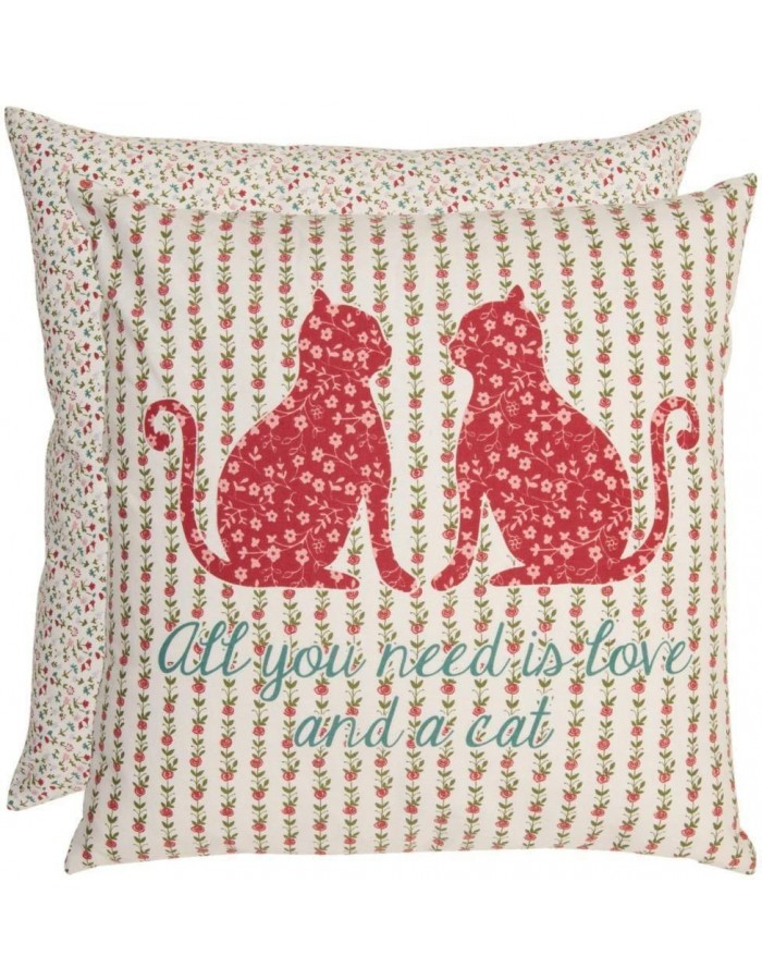 pillowcase red - LOC31 Clayre Eef