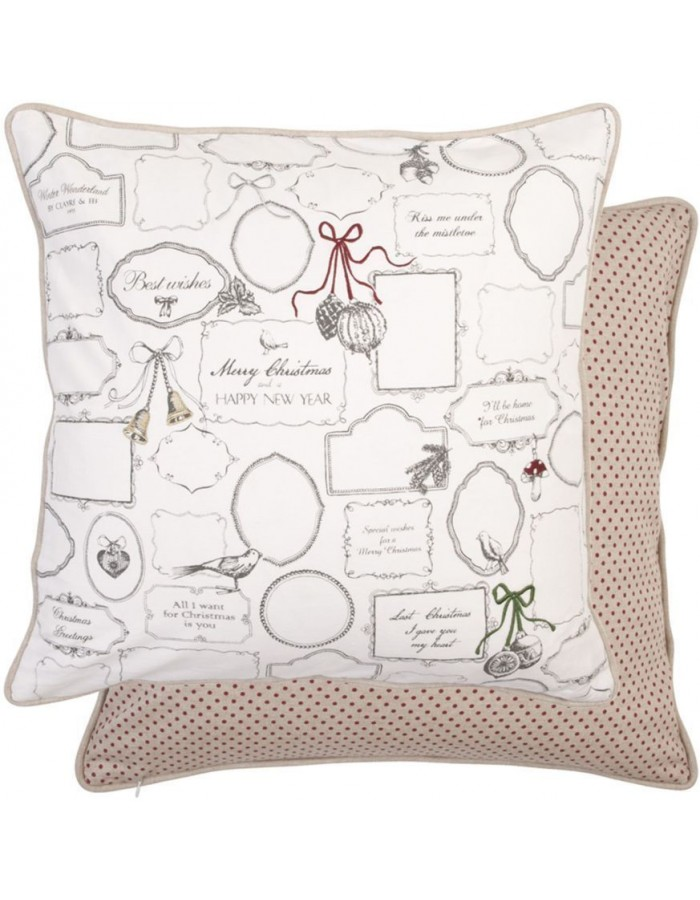 pillowcase brown - MCH31 Clayre Eef