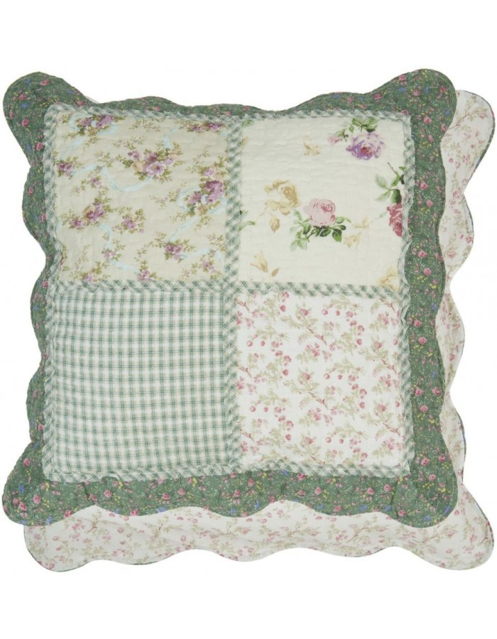 pillow cover 50x50 cm Patchwork Clayre-Eef