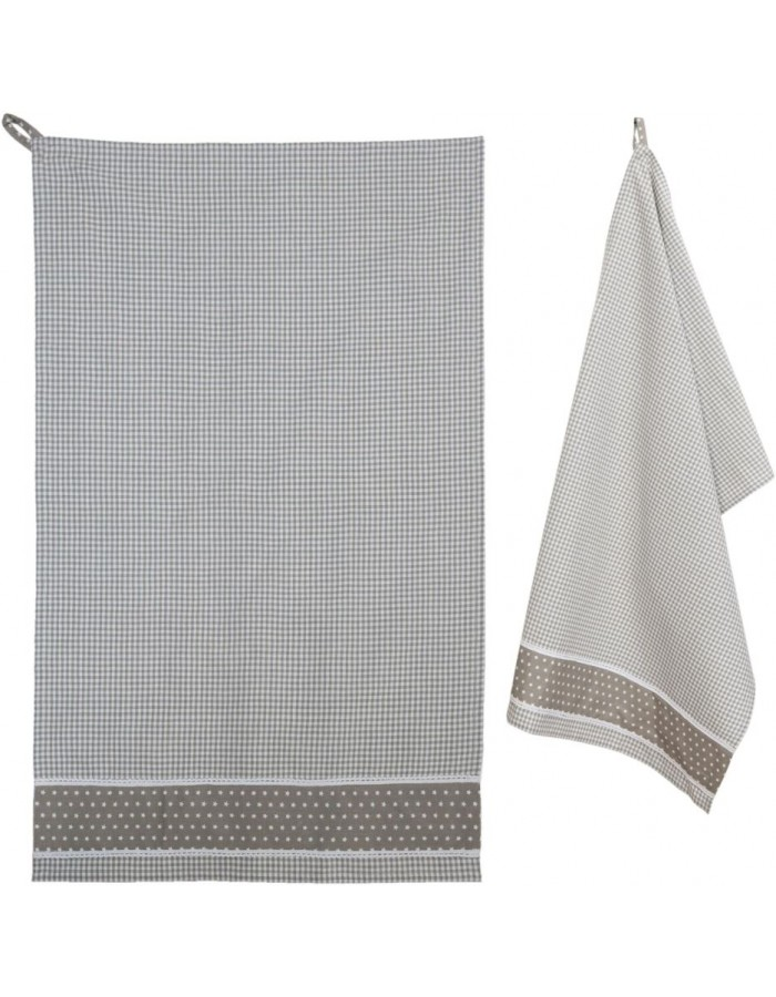 dish towel natural 50x85 cm - Twinkle Little Star