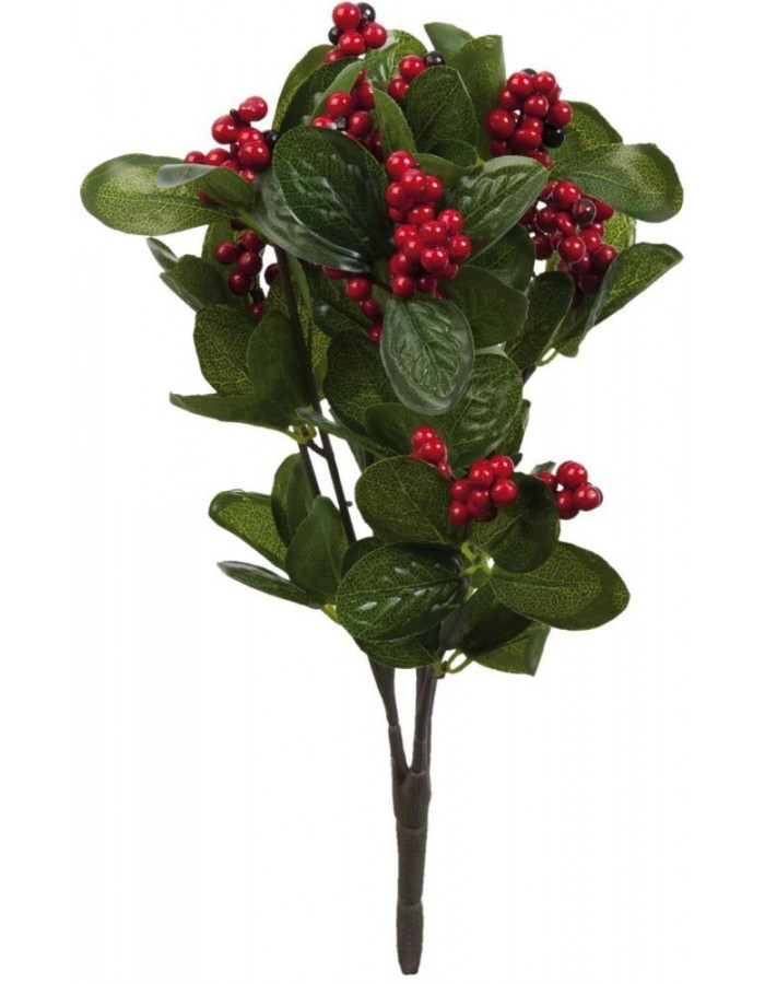 artificial plant red - 6PL0169 Clayre Eef