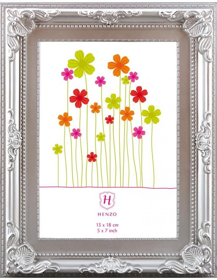 Henzo plastic frame Color Baroque 10x15 cm silver   fotoalben ...