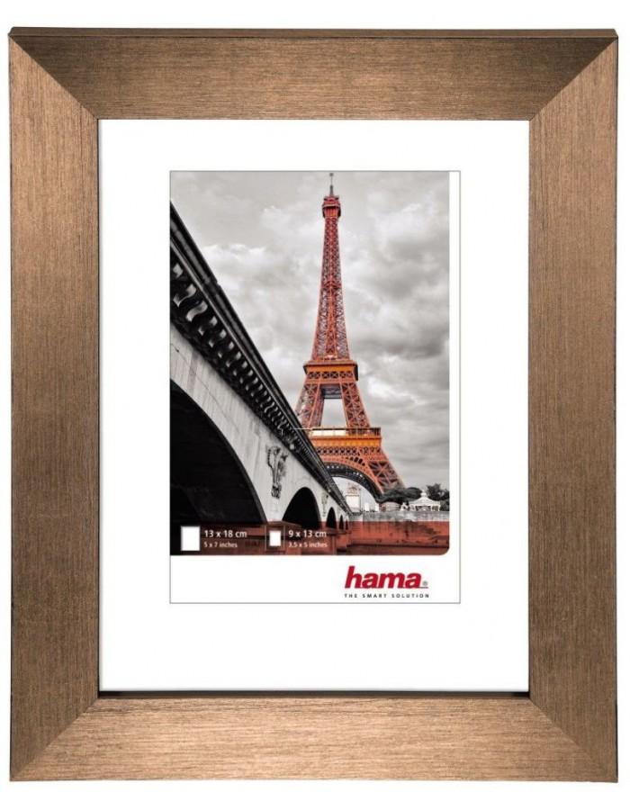 Hama Plastic Frame Paris, copper, 20 x 30 cm | fotoalben-discount.de