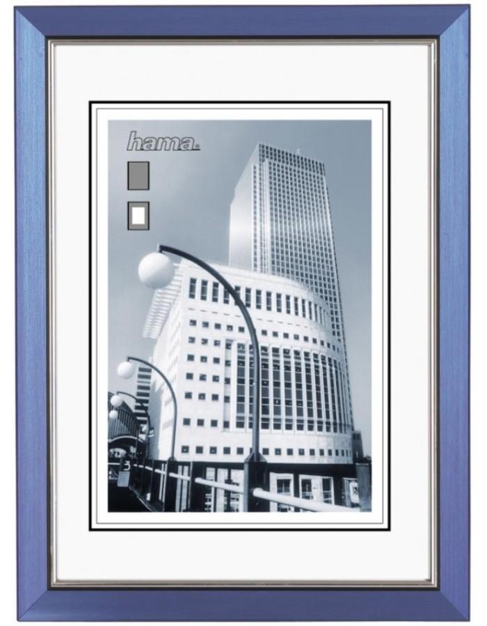 Hama plastic frame 20x30 cm Valencia Blue | fotoalben-discount.de