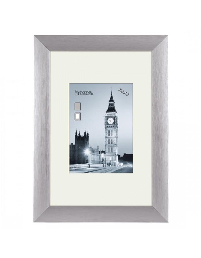 20x30 cm Aluminium Rahmen LONDON in silber | fotoalben-discount.de