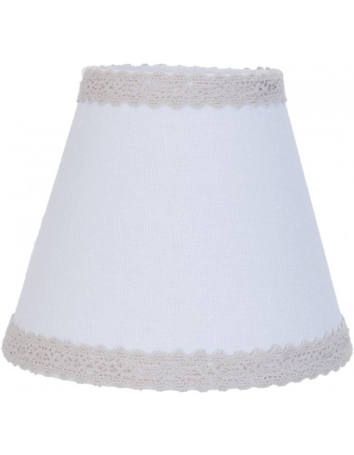 lamp shade 6LAK0333 Clayre Eef - white