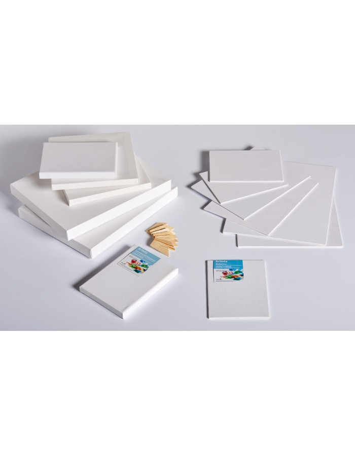 canvas 3 thicknesses and different sizes