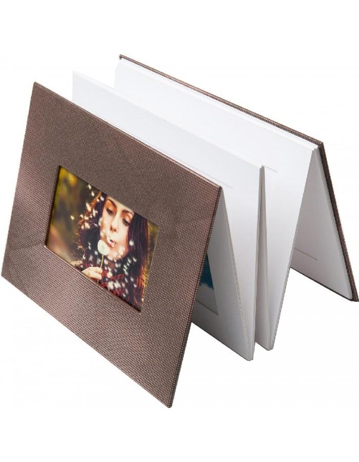 capitonne leporello 12 bilder passepartout album. Black Bedroom Furniture Sets. Home Design Ideas