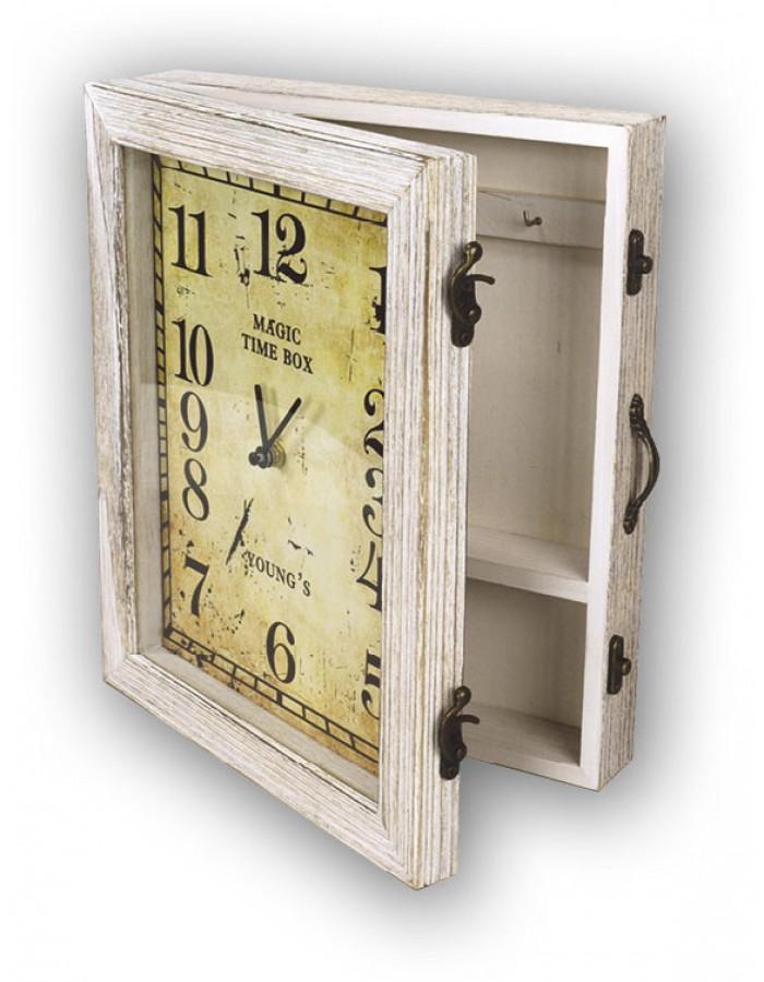 Manaus clock with wooden box