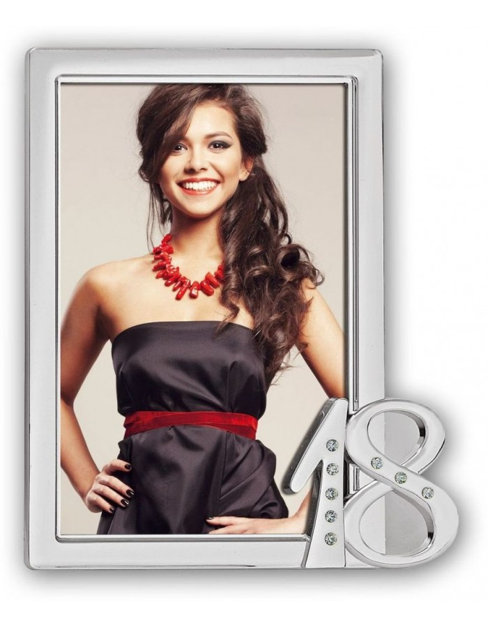 picture frame EIGHTEEN silver