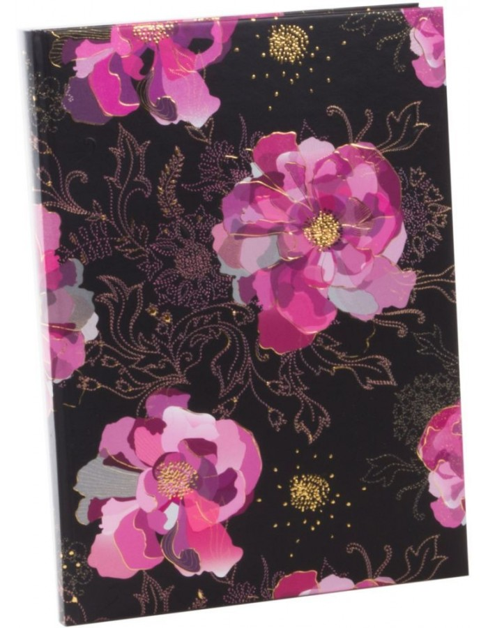 notebook A4 Midnight Rose Turnowsky