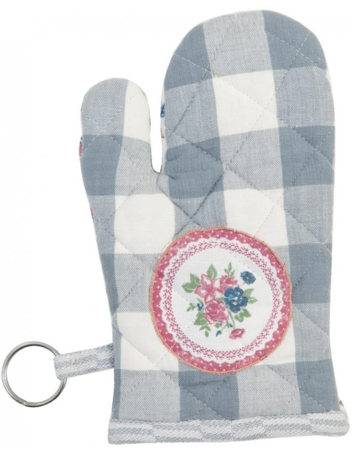 Oven mitt for children blue