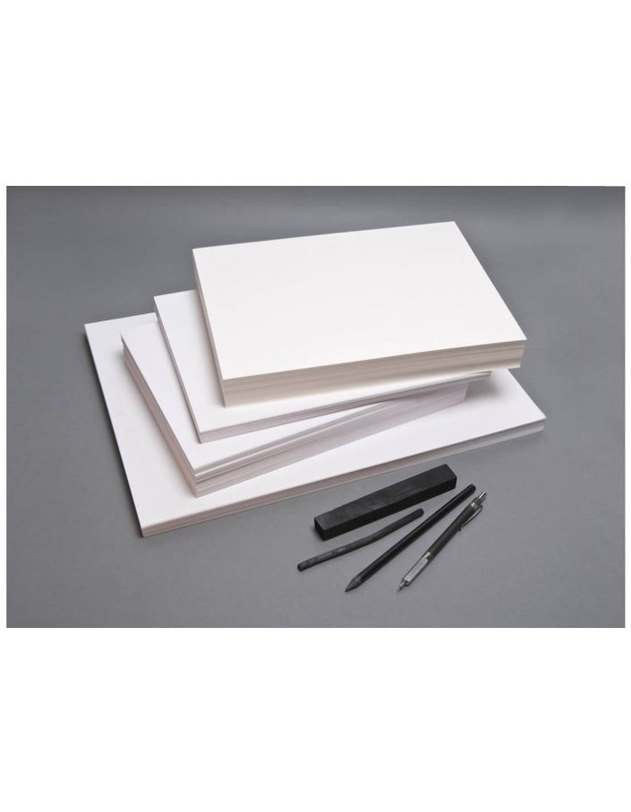 Pack 250 sheets of construction paper ZAP, 24x32cm, 90g, white