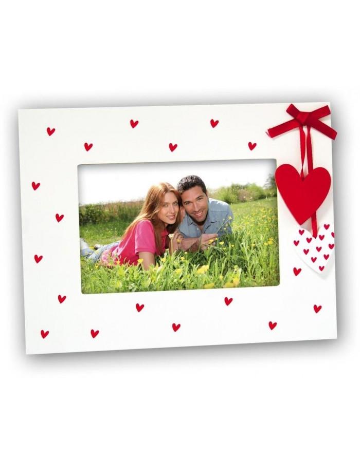 ZEP Pamela wooden photo frame 10x15 cm heart | fotoalben-discount.de