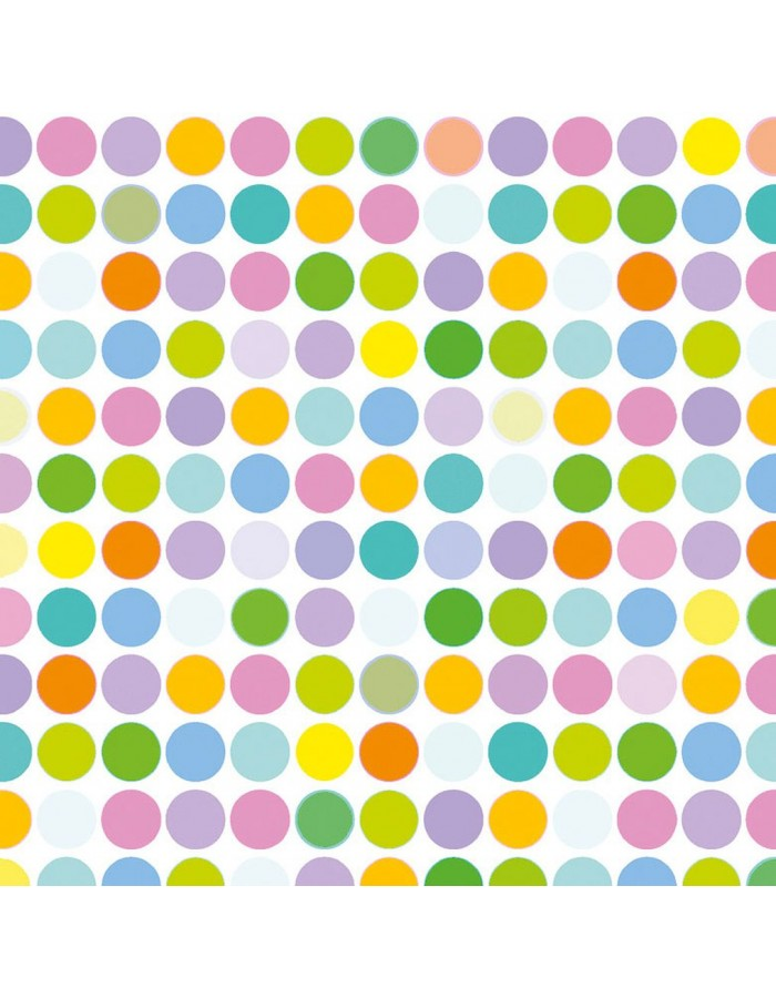 Papier-Servietten Superdots/color