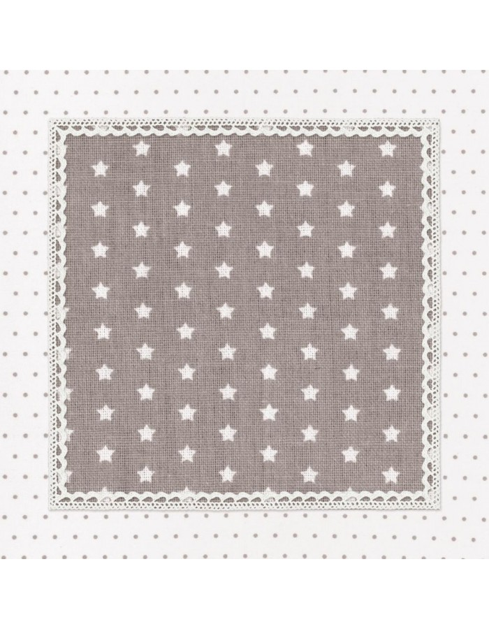 paper napkins (20 pieces) natural 33x33 cm - Twinkle Little Star