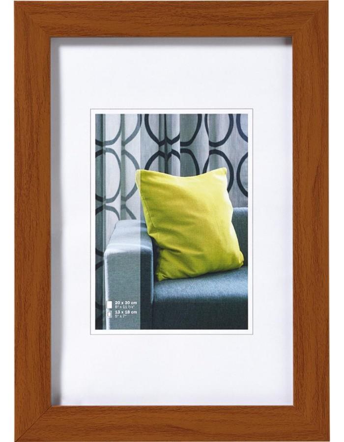 Walther Pillow picture frame 20x30 cm oak | fotoalben-discount.de