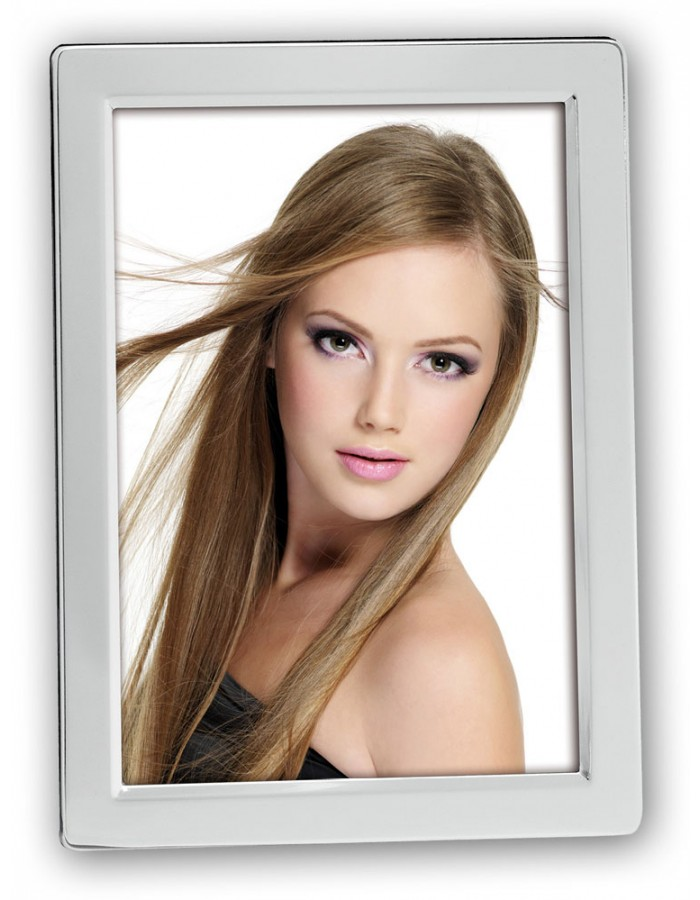 shiny portrait frame EWA with easel